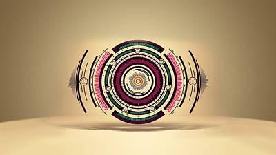 Reformer Digital Art - Design by Carmine Danhauer