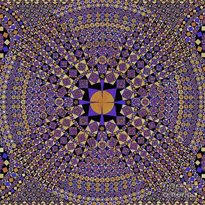 Tribal Art Painting - Design Element 10i by Gull G