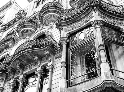 Photograph - Design Style In Barcelona by John Rizzuto