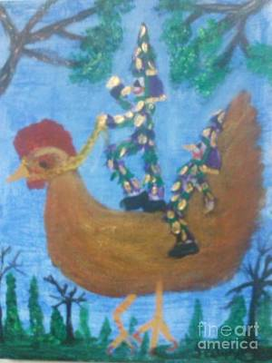 Folk Art Painting - Designated Driver by Seaux-N-Seau Soileau