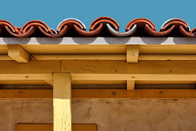 Photograph - Designs - Southwest - Roof by Nikolyn McDonald