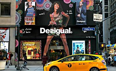 Desigual Art Print by Diana Angstadt