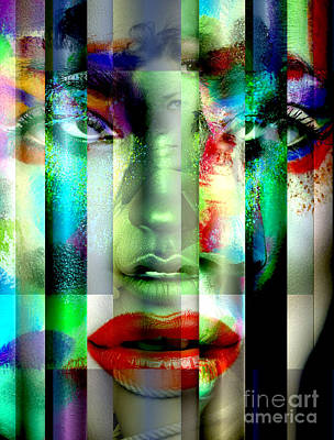 Digital Art - Desire Colors by John Rizzuto