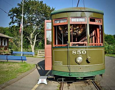 Photograph - Desire-trolley # 850 by Cornelia DeDona
