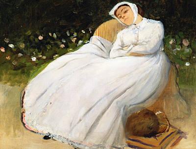 Desiree Rose Painting - Desiree Musson by Edgar Degas