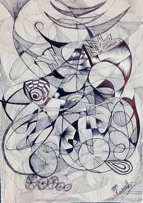 Visionary Art Drawing - Desires by Parul Jain