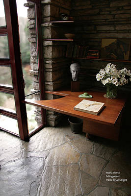 Photograph - Desk by Mark Alesse