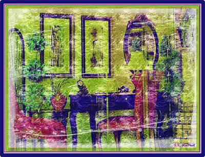 Art Print featuring the photograph Deskscene by Barbara MacPhail