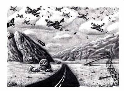 Desolate For Gunshy The Final Piece Art Print by Katie Alfonsi