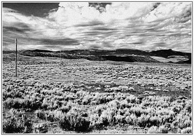 Photograph - Desolate Wyoming Landscape by Scott Kingery