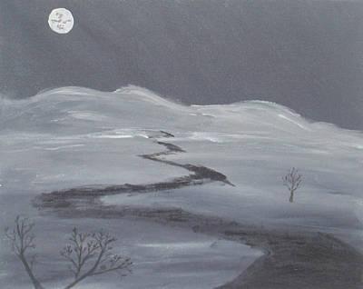 Wall Art - Painting - Desolation by Helen Krummenacker