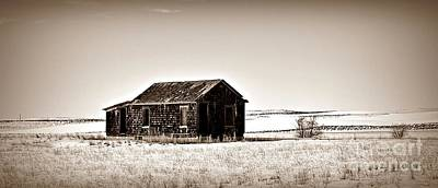 Photograph - Desolation In Sepia by Chalet Roome-Rigdon