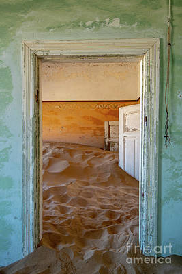 Photograph - Desolation - Kolmanskop, Namibia by Sandra Bronstein