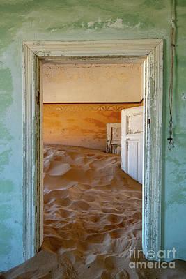 Photograph - Desolation - Kolmanskop, Namibia by Sandra Bronstein