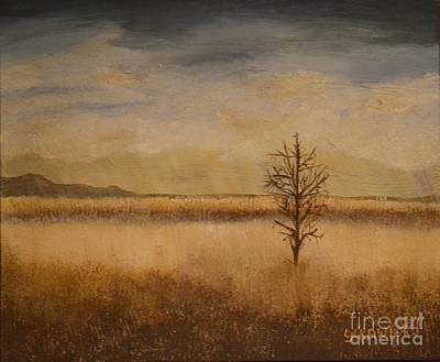 Painting - Desolation by Lori Jacobus-Crawford