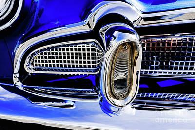 Photograph - Desoto Chrome Bumper by M G Whittingham