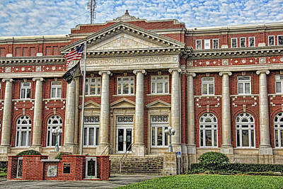 Photograph - Desoto County Courthouse by HH Photography of Florida