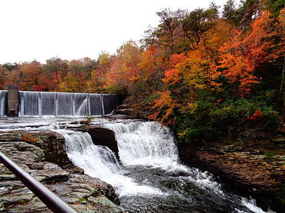 Photograph - Desoto Falls - Ft Payne Al by Deborah Lacoste