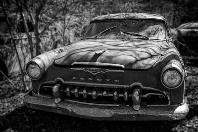 Photograph - Desoto In Black And White by Greg Mimbs