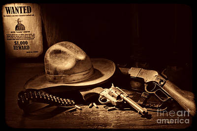 Photograph - Desperado by American West Legend By Olivier Le Queinec