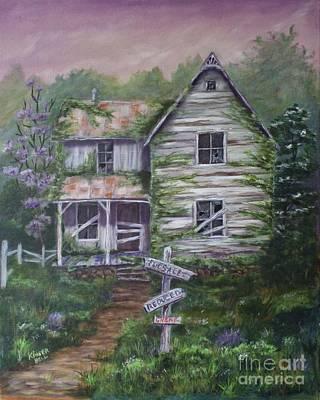 Painting - Desperate by Marlene Kinser Bell