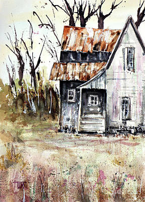 Painting - Desperately Seeking Spring by Tim Ross