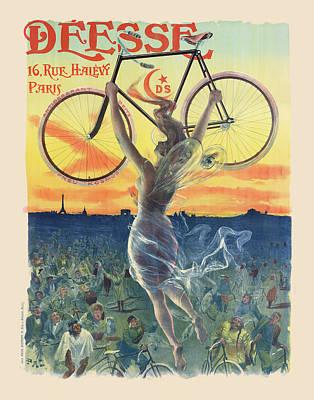 Digital Art - Desse Bicycles by Gary Grayson