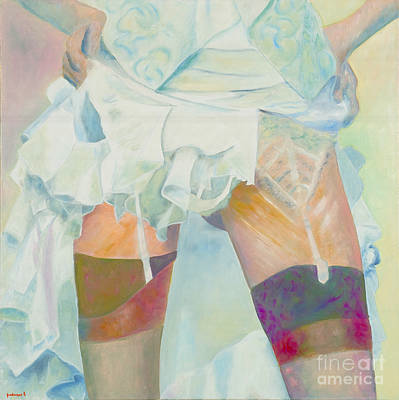 Painting - Dessous Dessus by Krzis-Lorent Frederique