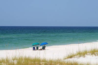 Photograph - Destin Beach by Karen Adams