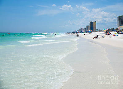 Photograph - Destin Florida by Andrea Anderegg