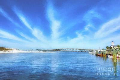 Photograph - Destin Harbor by Mel Steinhauer