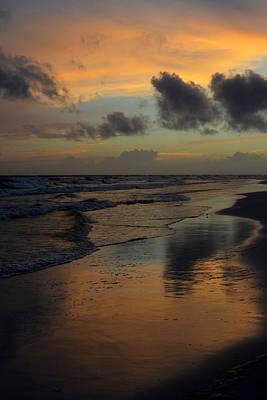 Photograph - Destin Sunset Drama by Carla Parris