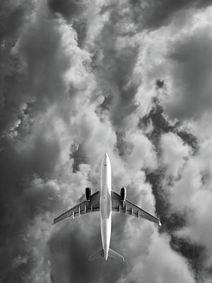 Jet Photograph - Destination Unknown by Mark Rogan