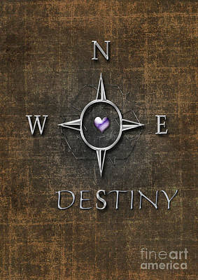 Digital Art - Destiny by Linda Prewer