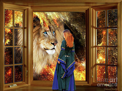Digital Art - Destiny's Window  by Dolores Develde