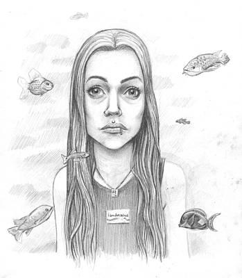 James Parker Drawing - Detached by James Parker
