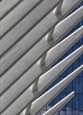 Photograph - Detai-lwestfield World Trade Center Nyc by Robert Ullmann