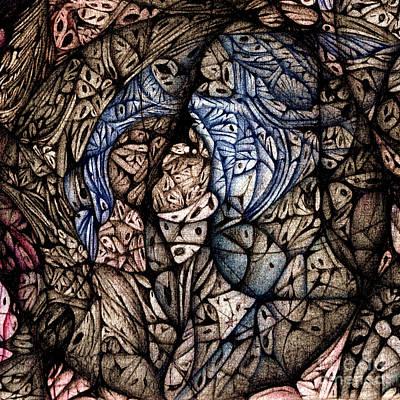 detail Circuler VIII  continuum II Art Print by Jack Dillhunt