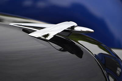 Photograph - Classic Car Detail by Dean Ferreira