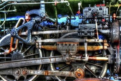 Photograph - Detail Of A Train by Carol Montoya
