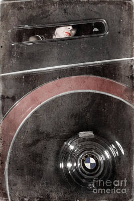 Photograph - Detail Of A Vintage Car. by Andrey  Godyaykin