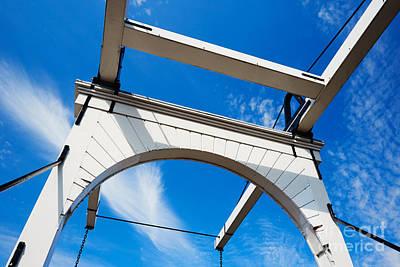 Photograph - Detail Of An Old Dutch Bridge by Nick  Biemans