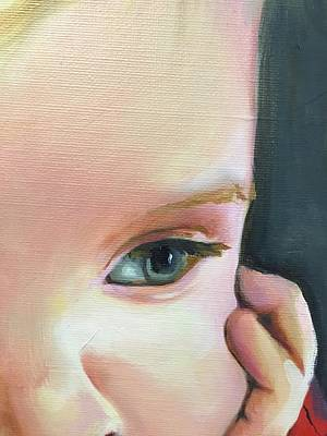 Painting - detail of Benson by Mary C Haneline