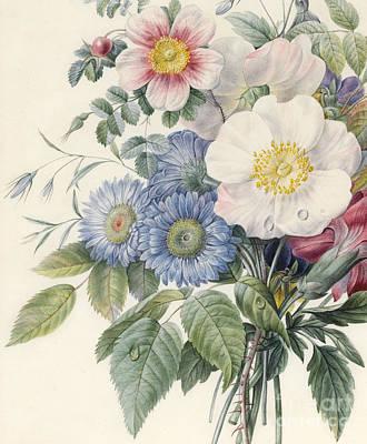 Detail Of Flowers Art Print
