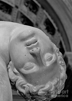 Sculpture - Detail Of Menelaus Supporting The Body Of Patroclus by Italian School