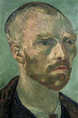Painting - Detail Of Self Portrait by Artistic Panda