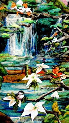 Detail Of Spring Original by Kimberly Simon