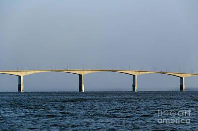 Photograph - Detail Of The Oland Bridge In Sweden by Kennerth and Birgitta Kullman