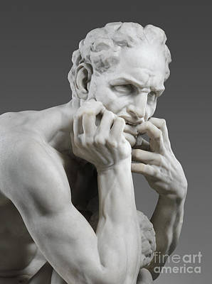 Sculpture - Detail Of Ugolino And His Sons by Jean-Baptiste Carpeaux
