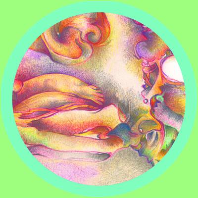 Trippy Digital Art - Detail Three by Bodhi